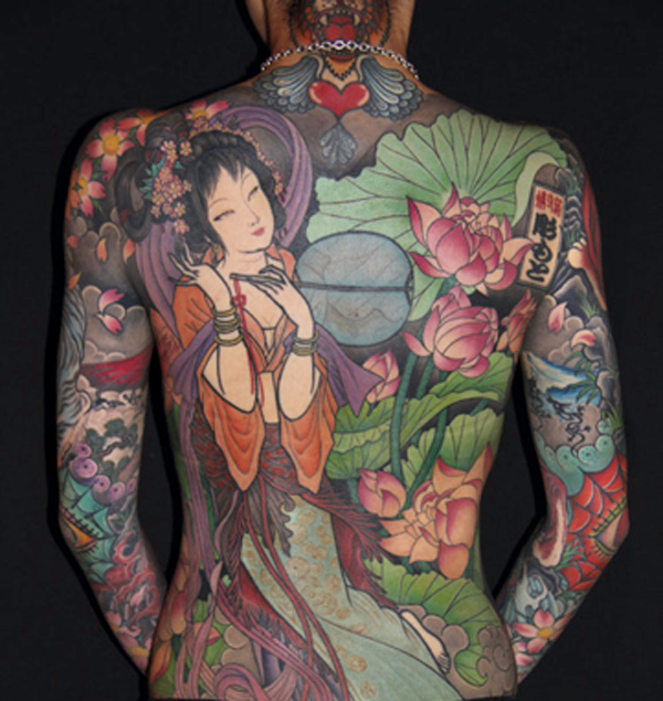 301 moved permanently for Japanese tattoo art